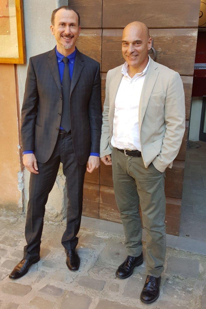 Io e Stefano 685x1030 - Nutriti & Previeni: la salute si siede a tavola